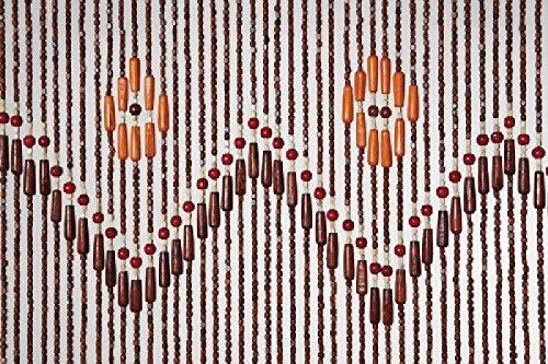 Catral 53010068 - Cortina para puerta, 1 x 90 x 200 cm, color multicolor