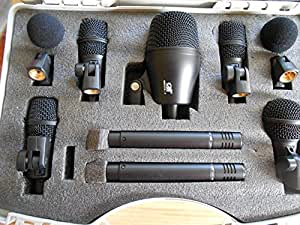 Gatt Drum Mic Set Review : quality gatt drum microphone set of 7 mics with free electronics ~ Hamham.info Haus und Dekorationen