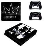 Kingdom hearts Skin Sticker for Sony Playstation 4 (Slim) and Remote Controllers