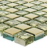 Glasmosaik Fliesen Moldau Gold