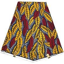 HITARGET WAX Pagne Tissu Africain collection ORIGINAL 6 YARDS Super cire imprimé top qualité 100% pur COTON réf QB
