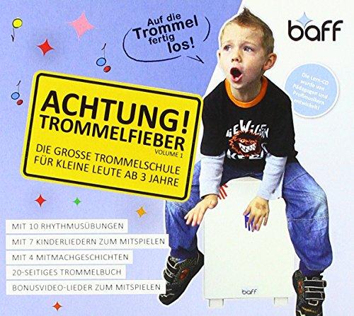 baff Musikmöbel 952 Achtung Trommelfieber Trommelschule für kleine Leute ab 3-9 Jahre