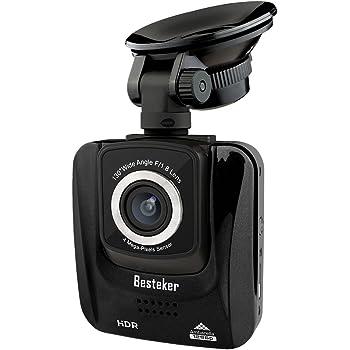 1296p hd dash cam with night vision besteker hdr 1080p. Black Bedroom Furniture Sets. Home Design Ideas