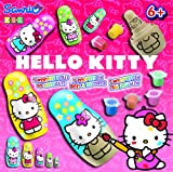 KSG Matryoshka Hello Kitty Poupées à Peindre 3,5-11 cm Couleurs Assorties