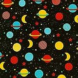 Platz Stoff–Planeten Outerspace