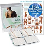 Med-Fit 1 ® Tens pads,4 electrodes in each pack. The highest quality extra long life self adhesive TENS electrodes using patented multi stick gel for guaranteed long life