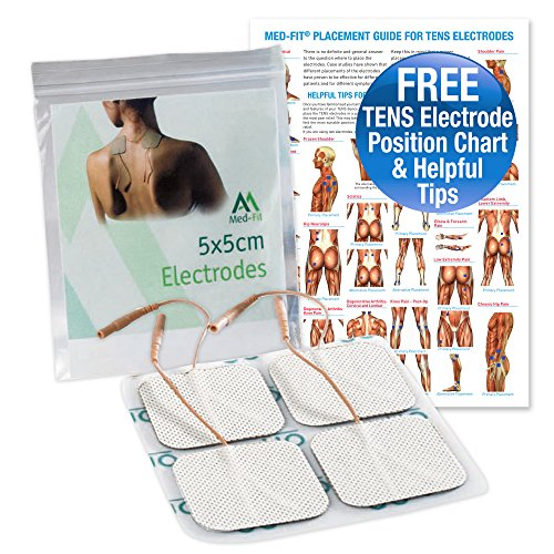 Med-Fit 1 Tens pads,4 electrodes in each pack. The