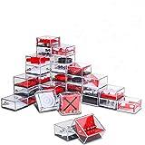 INTVN Set di 24 Mini Puzzle con Livelli Assortiti. Perfetti Come regalini Mini Giochi di Puzzle per Borse da Festa. Adatto pe