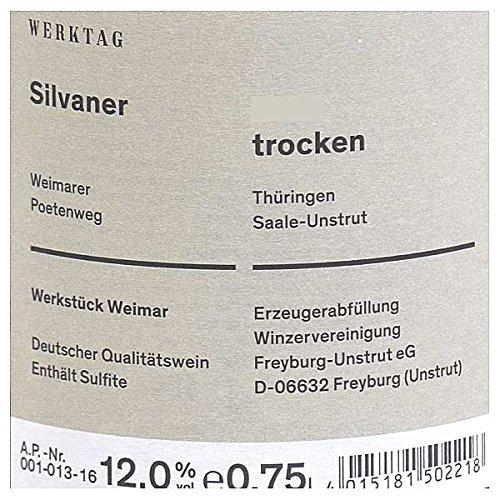 Winzervereinigung Freyburg-Unstrut Werkstück Weimar Silvaner 0,75l - 2