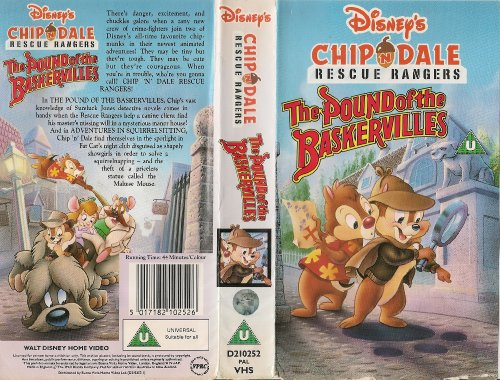 Chip 'n' Dale - Rescue Rangers - The Pound Of The Baskervilles