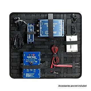 ah Accessories 8740XDSB Organizer für Rackschubladen 390 x 350 mm