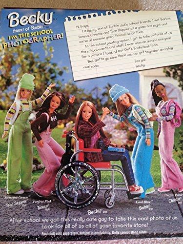 Barbie Collector # 20202 Becky im Rollstuhl (Barbie-sammlerstücke)