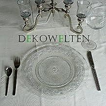 Deko–Bajoplato (Cristal Plato Cristal 30cm