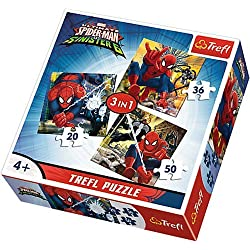 Puzzle 3w1 Swiat Spider-Man