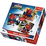 Puzzle 3w1 Swiat Spider-Man