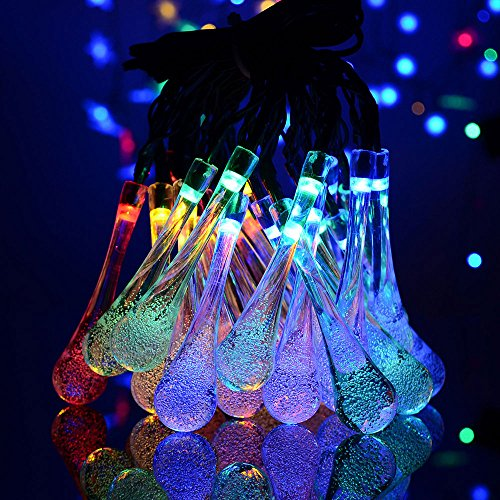niceeshoptm-solar-led-string-lights-20ft-30-led-2-working-mode-water-drop-fairy-lights-outdoor-strin