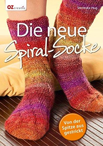 Die neue Spiral-Socke: Von der Spitze aus gestrickt -