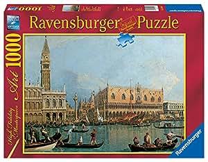 Ravensburger - Puzzle - 1000 Pièces  - Canaletto, le Palais Ducal