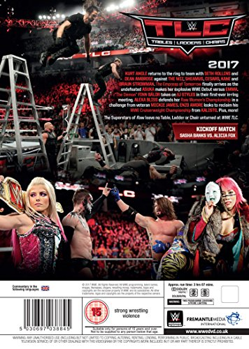 WWE  TLC - Tables  Ladders   Chairs 2017  DVD