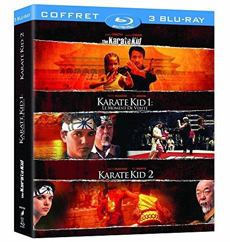 Coffret intégrale karaté kid [Blu-ray] [FR Import] (Smith Karate Kid Jaden Film)