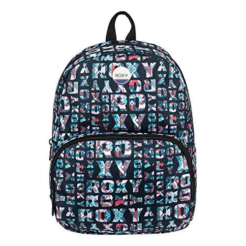Roxy Always Core Mochila tipo casual, 40 cm, 8 litros, Black/Blue/Pink