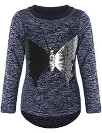 BEZLIT Mädchen Pullover Wende-Pailletten Sweatshirt 21516