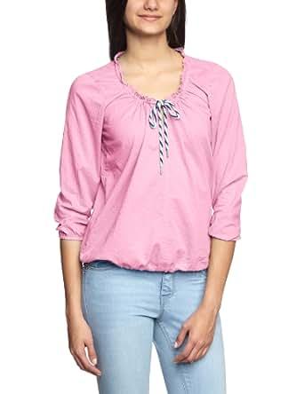 CAMPUS Damen Bluse Regular Fit 344 1405 42565, Gr. 34 (XS), Pink (candy pink 608)