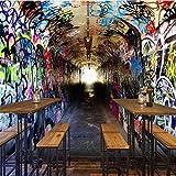 Tapeten Wallpaper Retro Nostalgie Industrial Style 3D Anpassbare Wandbilder Dekoration Coffee Shop/Esszimmer / Wohnzimmer/TV Wand/Schlafzimmer / Sofa Hintergrund, B