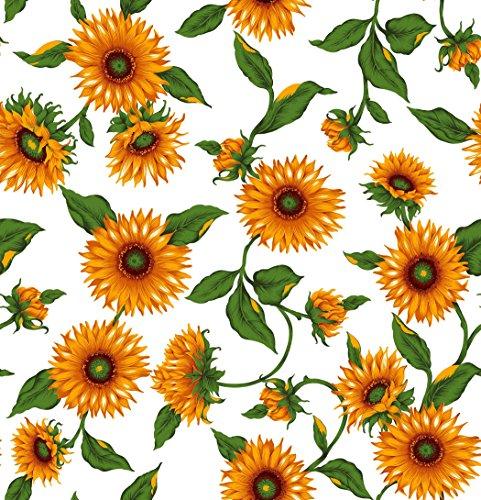 Ärmelbügelbrettbezug, 2Stück, Sonnenblumen und Zitronen