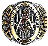 Inception Pro Infinite Uglqmsnnr - Anillo - Man - Master Mason - Masonic Lodge - (ES 16)