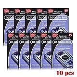 Huang Dog-shop 10PCS Anti Radiation Protection EMF Shield - Compatible téléphones cellulaires, tablettes, PDA,téléphones domestiques sans Fil, cuisinières à Induction Autres dispositifs rayonnés