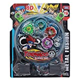 Higadgettm 4 Beyblade Set With Ripchord Launcher And Assemble Tool