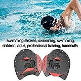 AITOCO Pagaie Unisex per Adulti o juniores Nuoto - Palette da Allenamento Power Swim Serie PRO perfette per l'allenamento in Piscina per Migliorare Il Posizionamento della Corsa della Mano