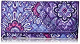 Best Vera Bradley Lilacs - Vera Bradley Trifold Wallet, Lilac Tapestry, One Size Review