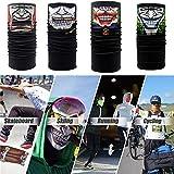 2018 Cycling Gesichtsmaske  sunnymi Multifunktionale Magie Radfahren Schal Gesichtsmaske  Clown Stil Motorrad Neck Tube Ski