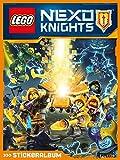 LEGO NEXO Knights Stickeralbum (leer), 36 Seiten für 220 Sticker, 1 Stück
