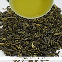Top Quality Loose Leaf Organic Green Tea | 100gram (3.52ounce) A Bio-Organic with Antioxidant Properties For Health Benefits, Weight Loss, Slimming for both Men and Women | Darjeeling Tea Boutique