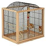 PaylesswithSS Jaula para pájaros Belinda para periquitos y canarios