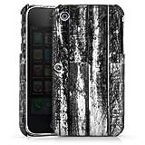 DeinDesign Apple iPhone 3Gs Coque Étui Housse Parquet noir et blanc