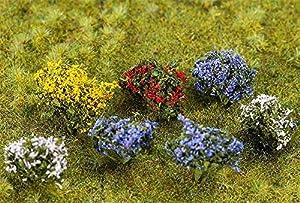 Faller FA 181269-14Extremo Arbustos Florales, Accesorios para el diseño de ferrocarril, Modelo