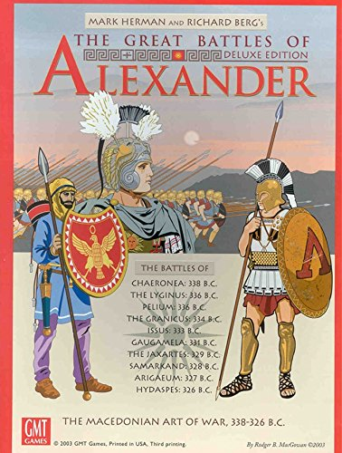 Great Battles of Alexander - Expanded Deluxe Edition by GMT Games
