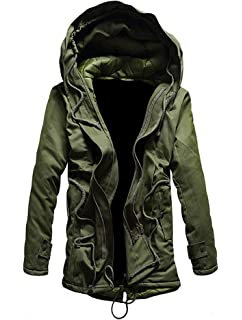 Superdry New Military Parka, Bleu (Super Dark Navy Jvh), X
