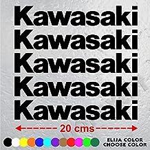 5 PEGATINAS MOTO KAWASAKI ZX-R ZXR 750 de 20 cm x 3,22 cm. ADHESIVO VINIL STICKER DECALS AUFKLEBER