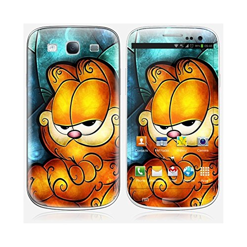 Coque iPhone 5 et 5S de chez Skinkin - Design original : Garfield par Mandie Manzano Skin Galaxy S3