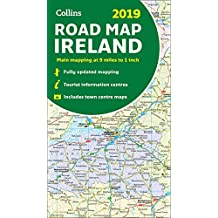 2019 Collins Map of Ireland (Collins Maps)