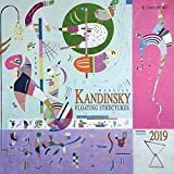 Wassily Kandinsky - Floating Structures 2019: Kalender 2019 (Tushita Fine Arts)