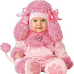 Toddler Baby Infant Cutie Poodle Pink Dog Animal Outfit Costume by Outdoor Leisure