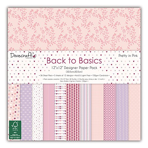 dovecraft-back-to-basics-pretty-in-pink-papeles-estampados-para-manualidades-305-x-305cm