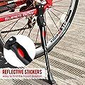 Fahrradständer, Mopalwin Seitenständer Fahrrad Ständer Einstellbarer Universal Fahrrad Ständer mit Anti-Rutsch Gummifuß Aluminiunlegierung für Mountainbike, Rennrad, Fahrräder, Klapprad