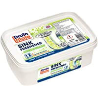 Drain Mate Plug Hole, Sink and Drain Freshener - 12 Sachets - Leaves your sink, plug and drains fresh and sparkling…